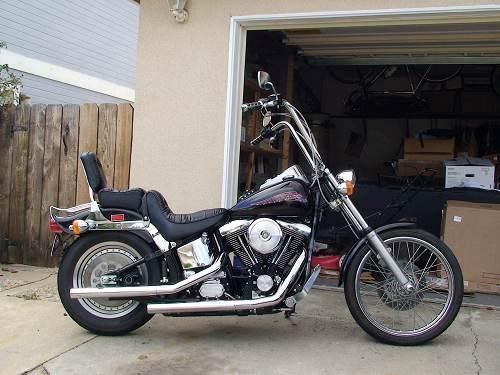 Softail Motorcycles For Sale San Diego Ca >> 1999 Harley-Davidson® FXSTC Softail® Custom (Vivid Black), San Diego, California (69443 ...
