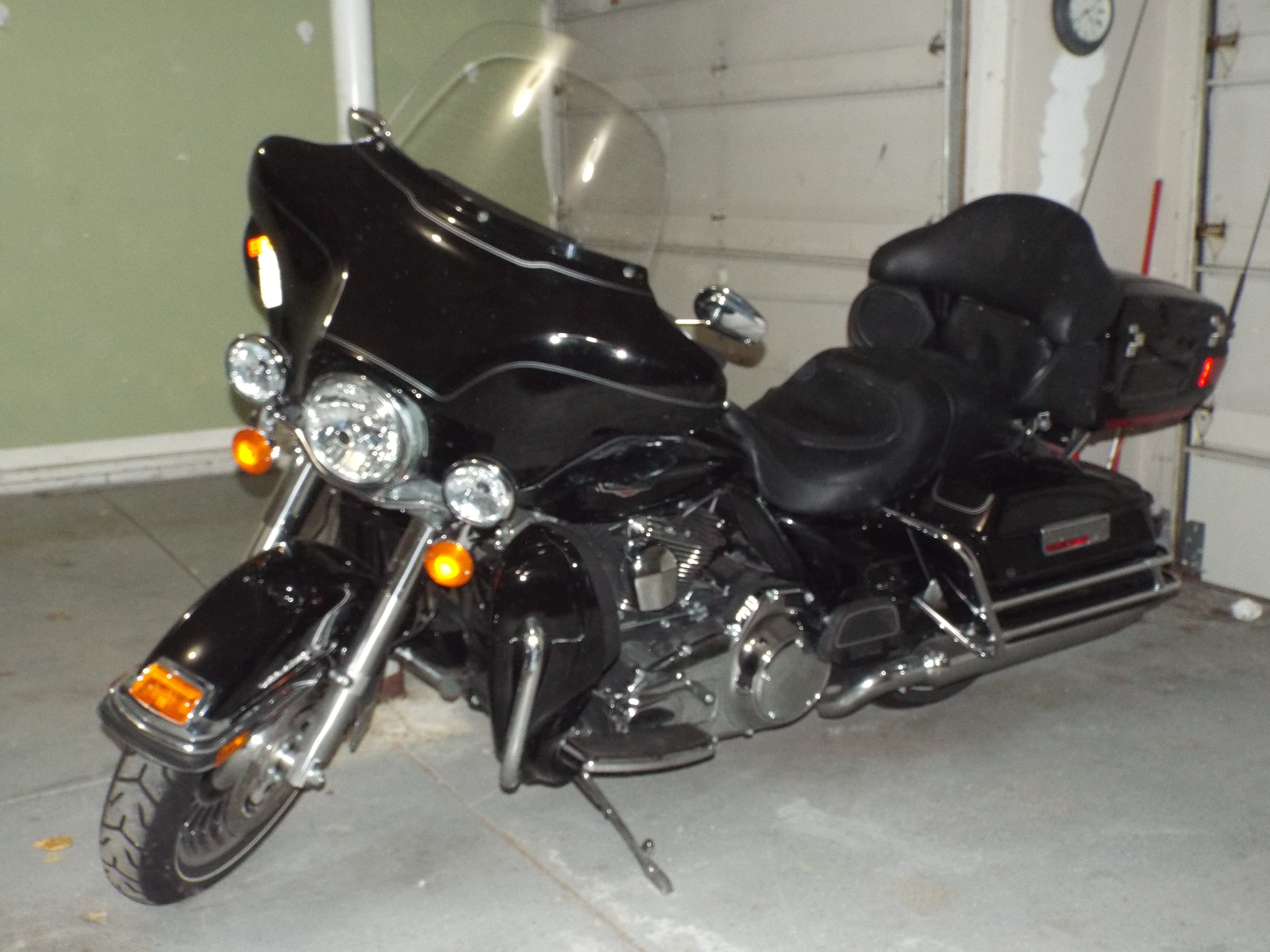 Harley Davidson Electra Glide For Sale Tulsa Ok >> 2010 Harley-Davidson® FLHTCU Ultra Classic® Electra Glide® (Black), Omaha, Nebraska (565539 ...