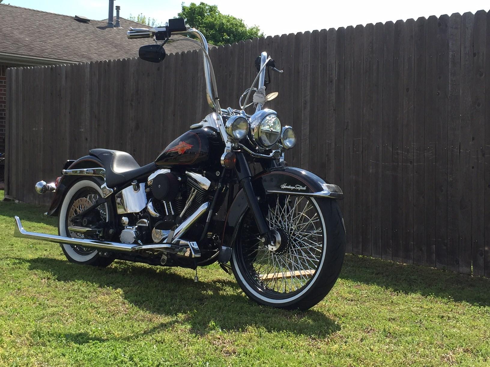 1993 Harley Davidson 174 Flstc Heritage Softail 174 Classic