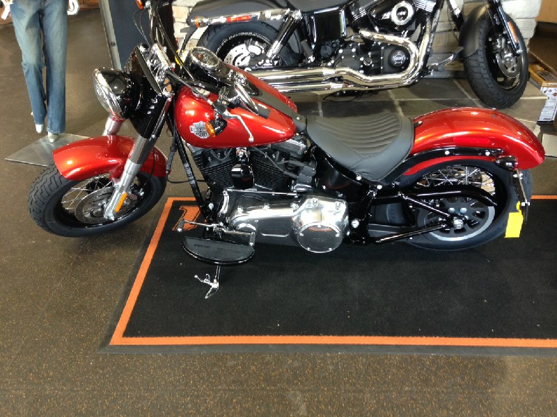 2014 Harley Davidson 174 Fls Softail Slim 174 Whiskey Orange