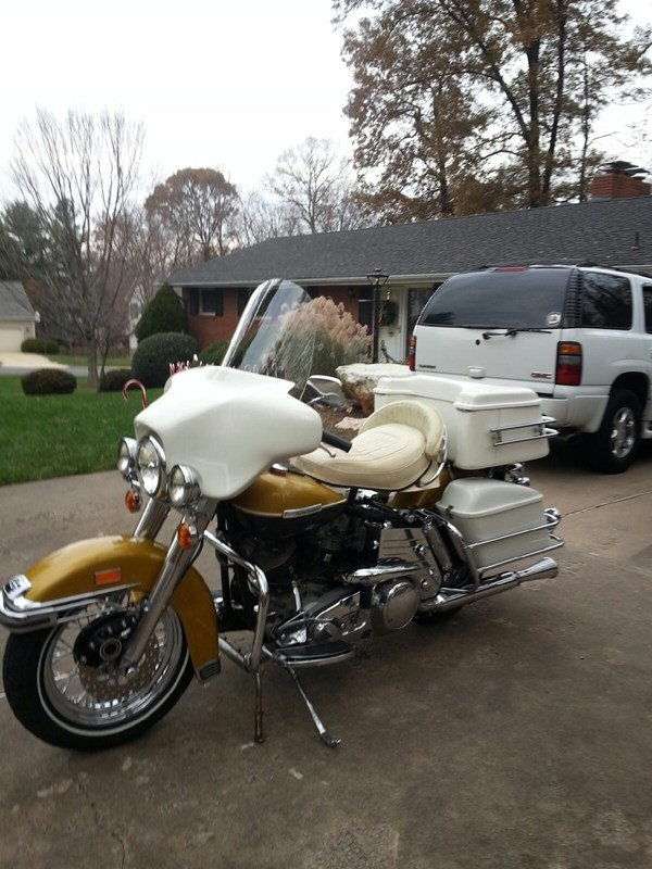 Photo of a 1973 Harley-Davidson® FLH Electra Glide®
