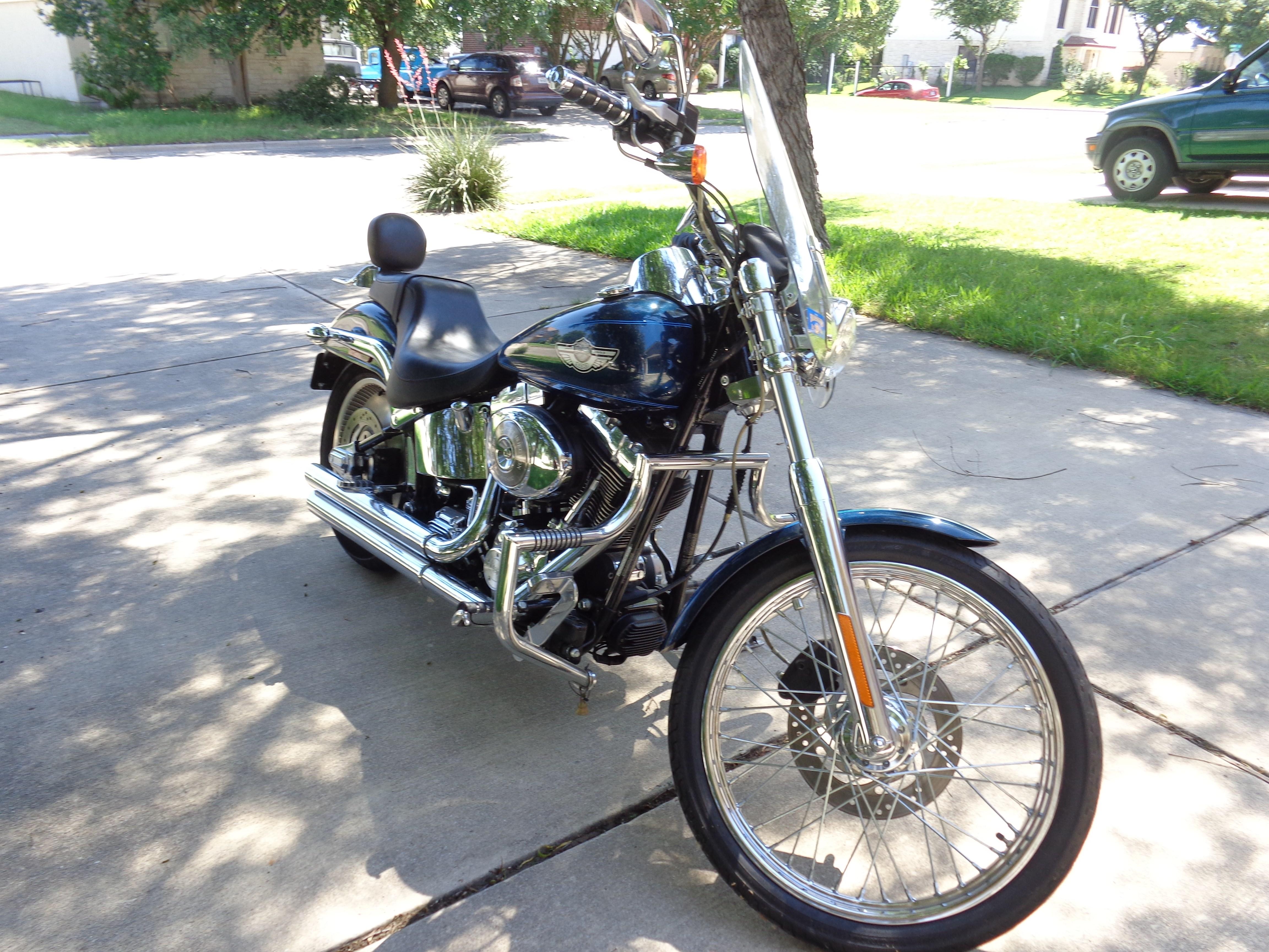 Used Harley Davidson Motorcycles For Sale San Marcos Tx >> 2003 Harley-Davidson® FXSTD/I Softail® Deuce™ (Luxury Blue), Round Rock, Texas (656652 ...