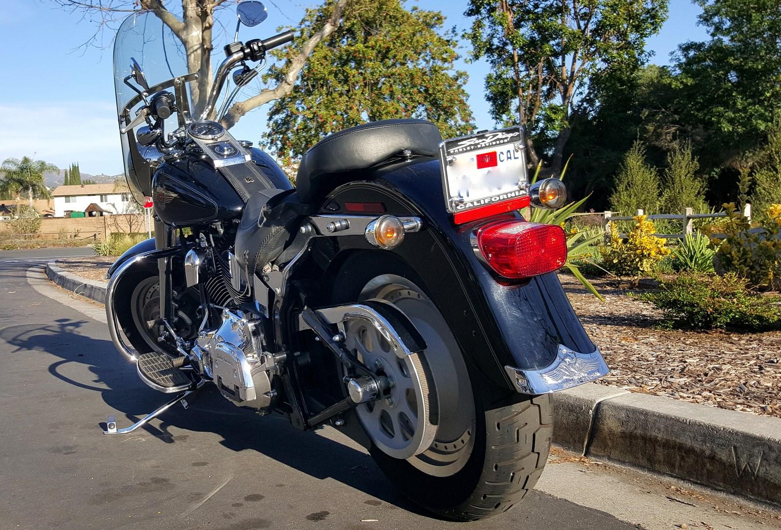 2017 Harley Motorcycle Dealer Poway Ca >> 2004 Harley-Davidson® FLSTF/I Softail® Fat Boy® (Black), Poway, California (636351 ...