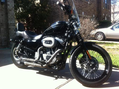 Photo of a 2009 Harley-Davidson® XL1200N Sportster® 1200 Nightster™
