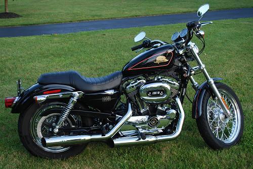 Harley Davidson Th Anniversary Bike Sportster