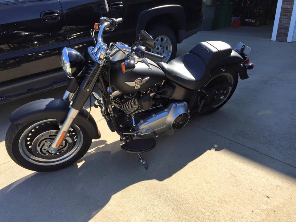 2012 Harley Davidson 174 Flstfb Softail 174 Fat Boy 174 Lo Flat