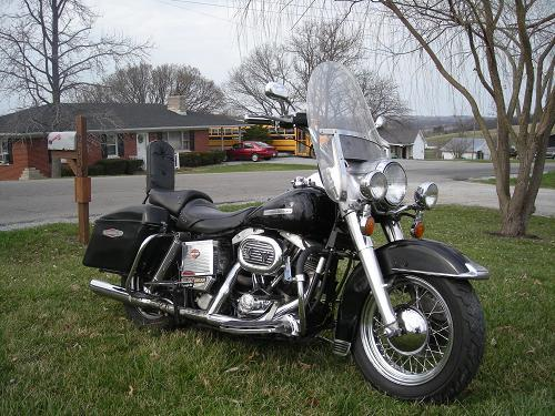 Photo of a 1972 Harley-Davidson® FLH Super Sport