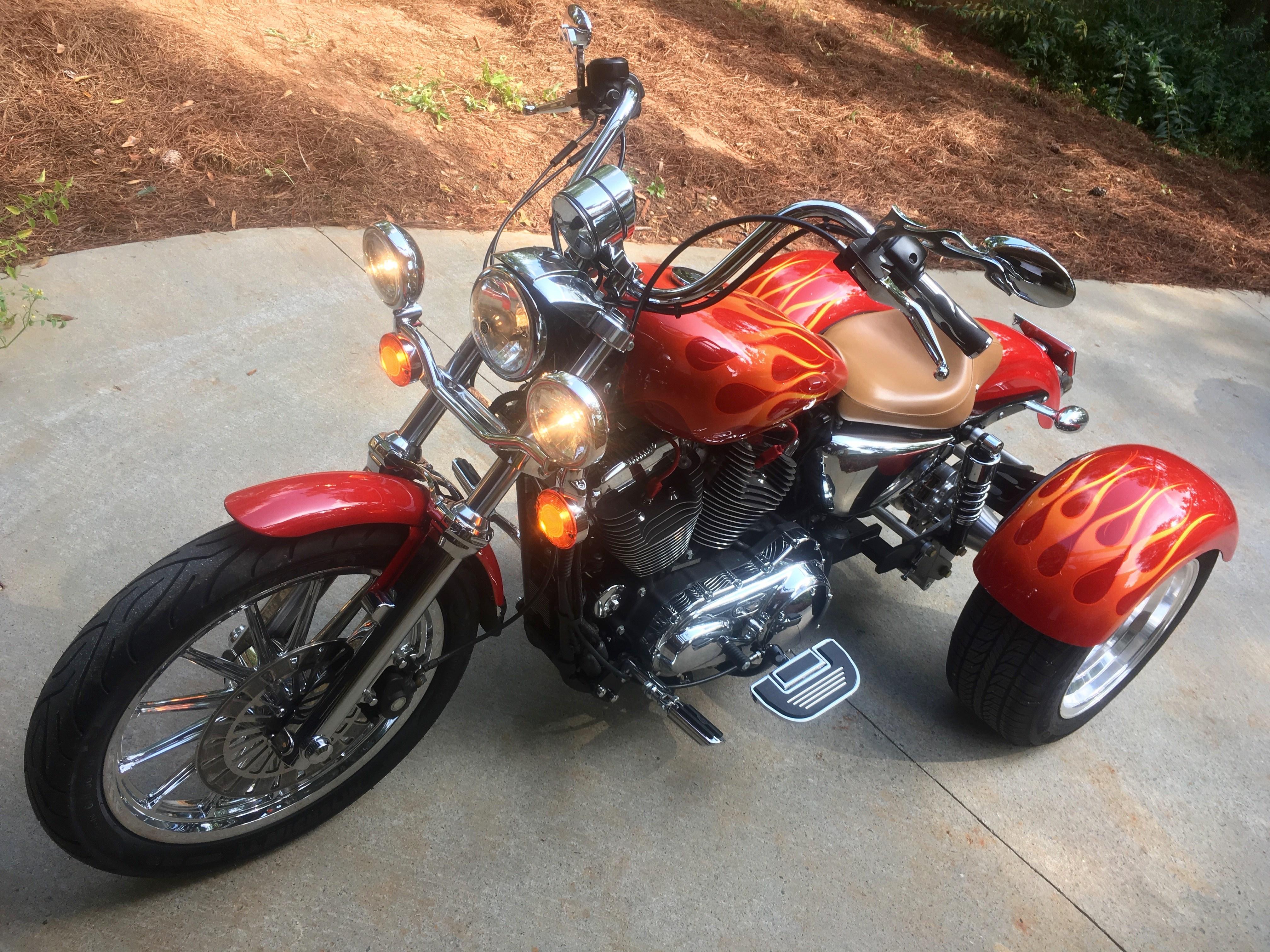 2008 Harley-Davidson® Custom Trike (Red), Atlanta, Georgia ...