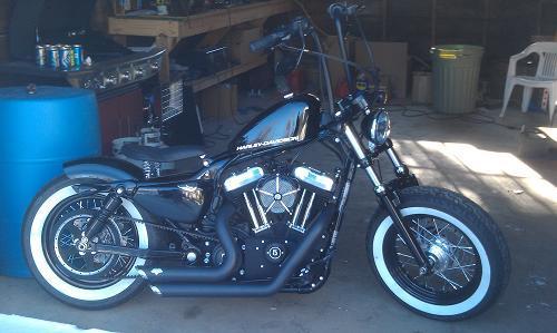 2011 Harley DavidsonR Xl1200x SportsterR 1200 Forty EightTM Black