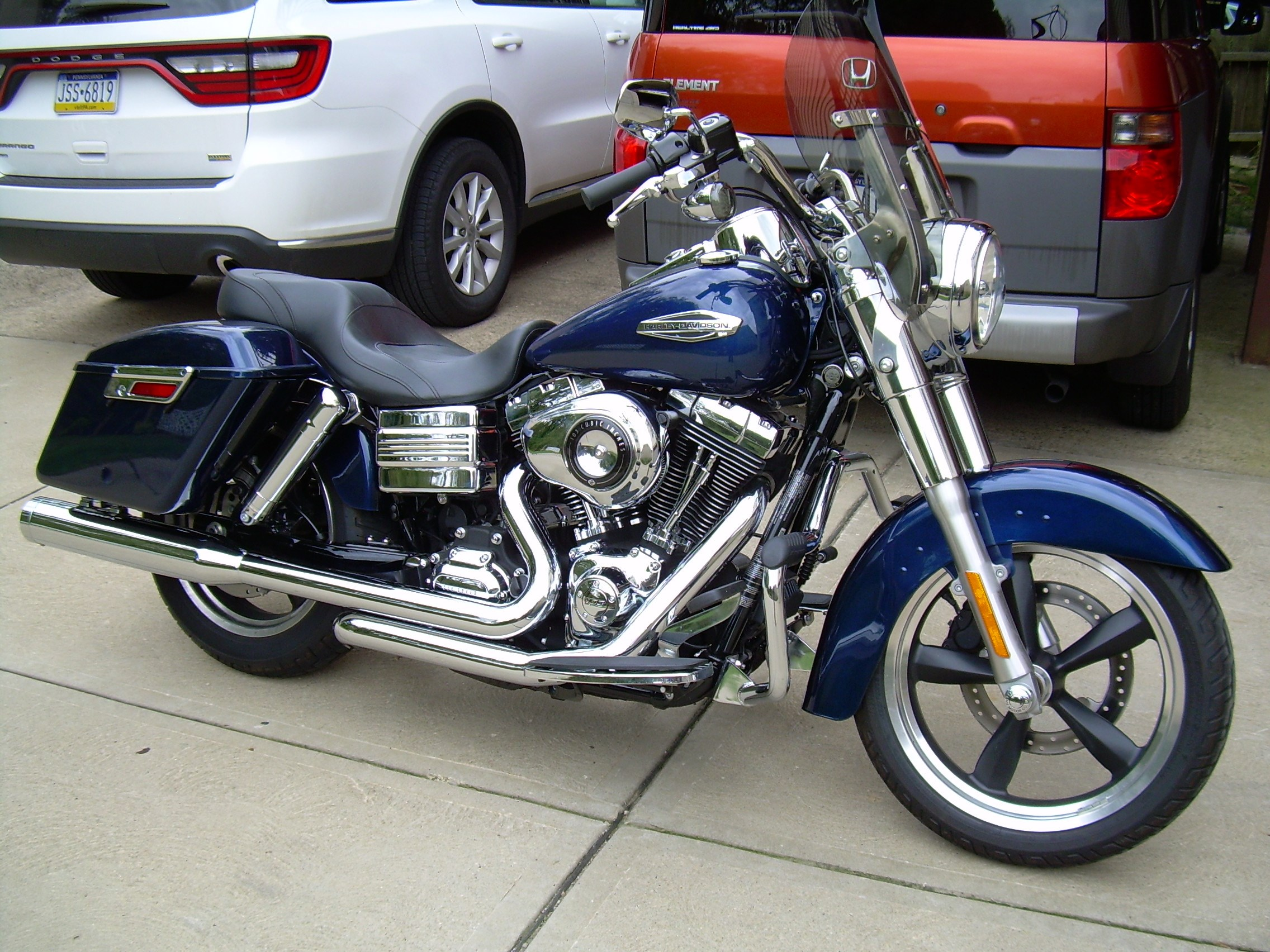 2013 Harley Davidson 174 Fld Dyna 174 Switchback Blue