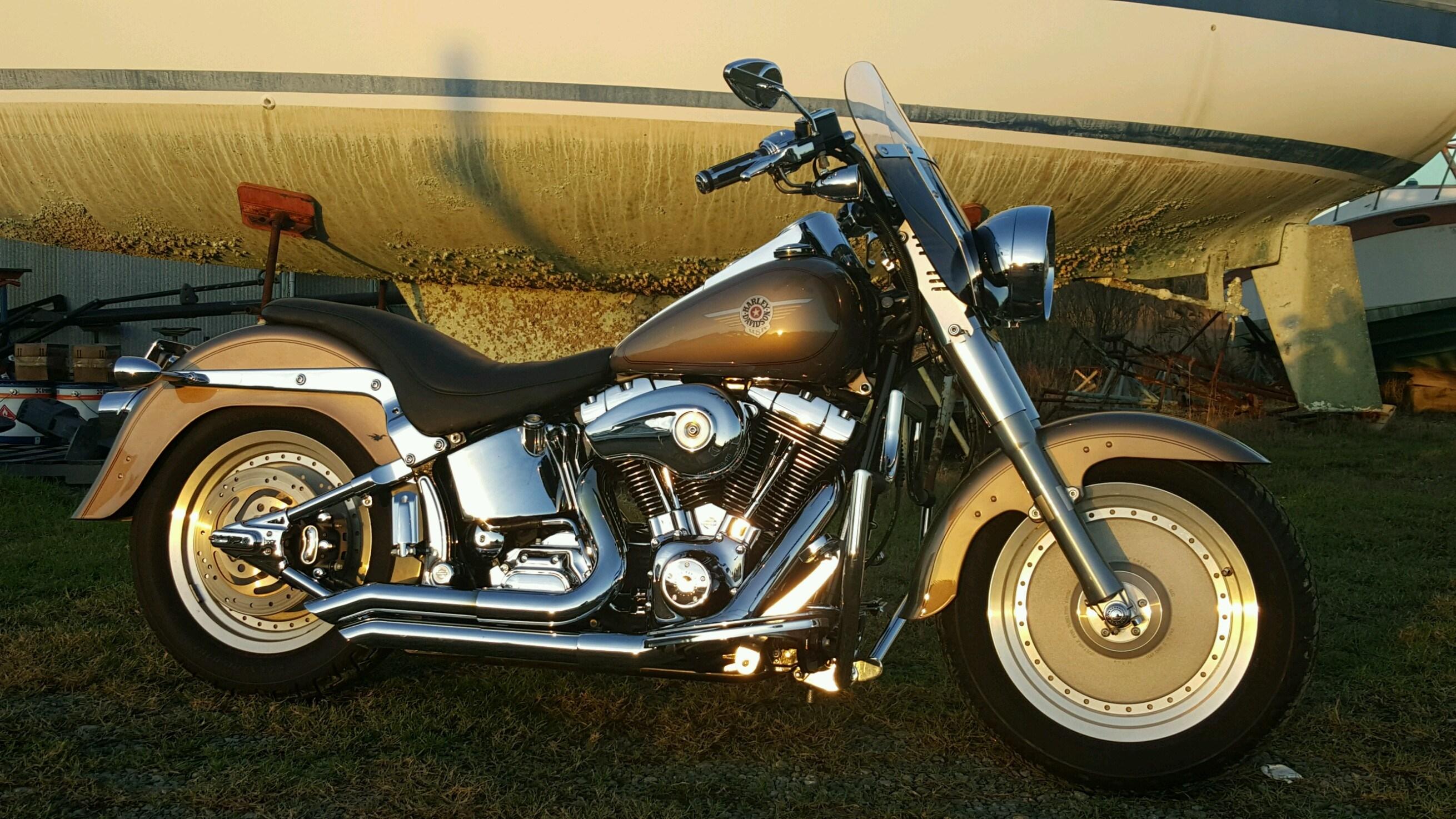 Motorcycle Dealer Orlando Fl >> 2004 Harley-Davidson® FLSTF/I Softail® Fat Boy® (Smokey Gold in color,), charlotte, North ...