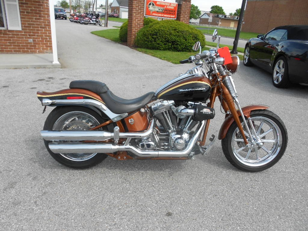 2008 Harley-Davidson® FXSTSSE2-ANV Screamin' Eagle® Softail® Springer® Anniversary – $17900