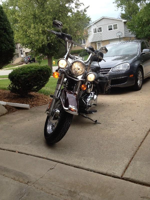 Cartersville Harley Davidson >> 2007 Harley-Davidson® FLSTC Heritage Softail® Classic (Black Cherry Pearl / Pewter), Tinley Park ...