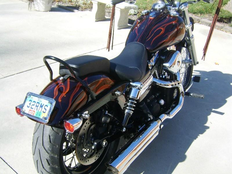 2010 Harley Davidson 174 Fxdwg Dyna 174 Wide Glide 174 Candy