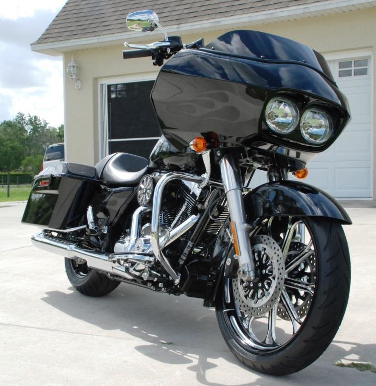 2012 harley davidson fltrx road glide custom black saint cloud florida 379645. Black Bedroom Furniture Sets. Home Design Ideas