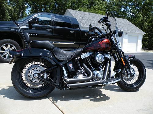Harley Davidson Pin Stops