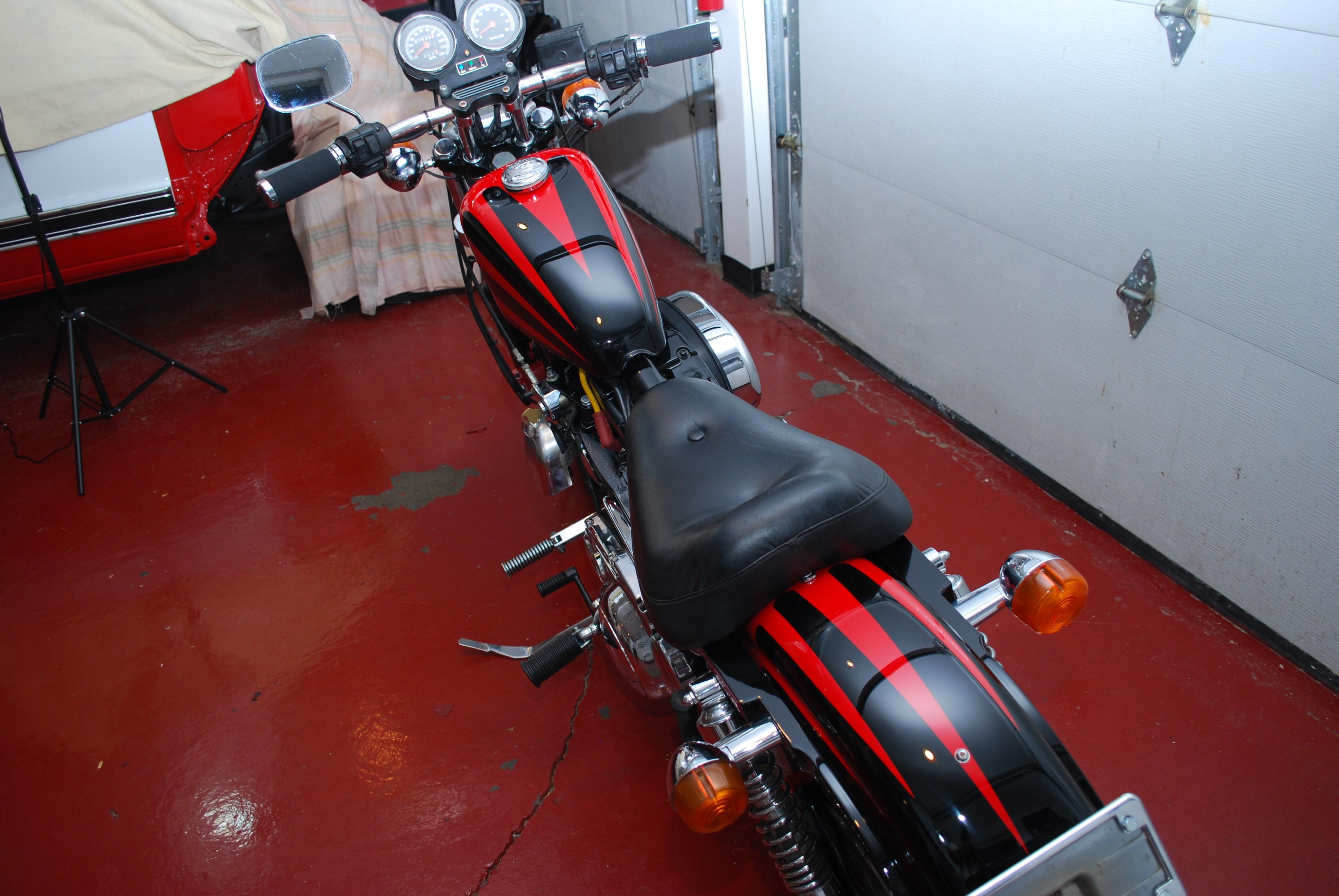 1986 Harley Davidson Xlh 1100 Sportster Red Black Dudley Massachusetts 561008 Chopperexchange