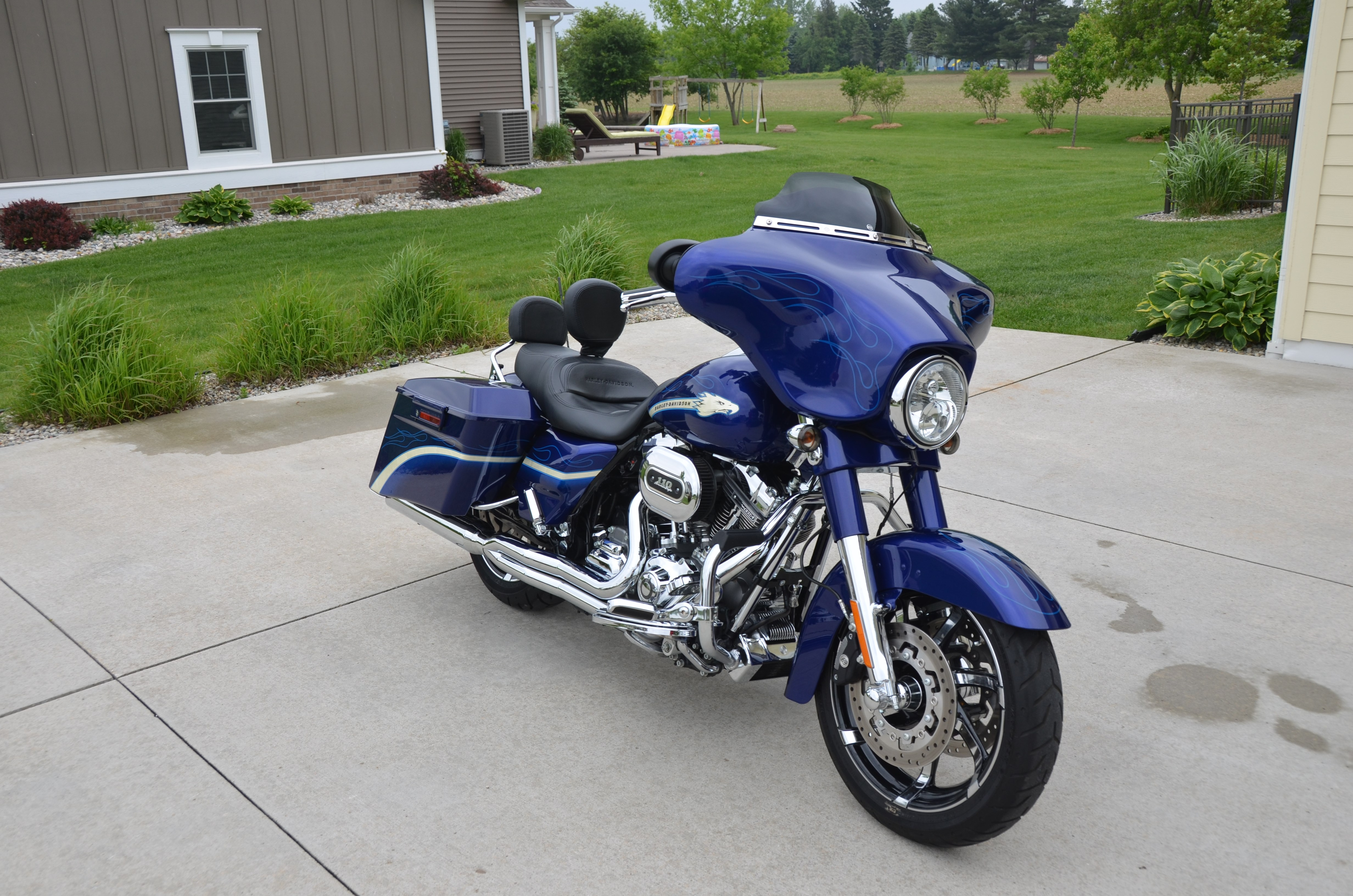 2010 Harley Davidson 174 Flhxse Cvo Street Glide 174 Candy