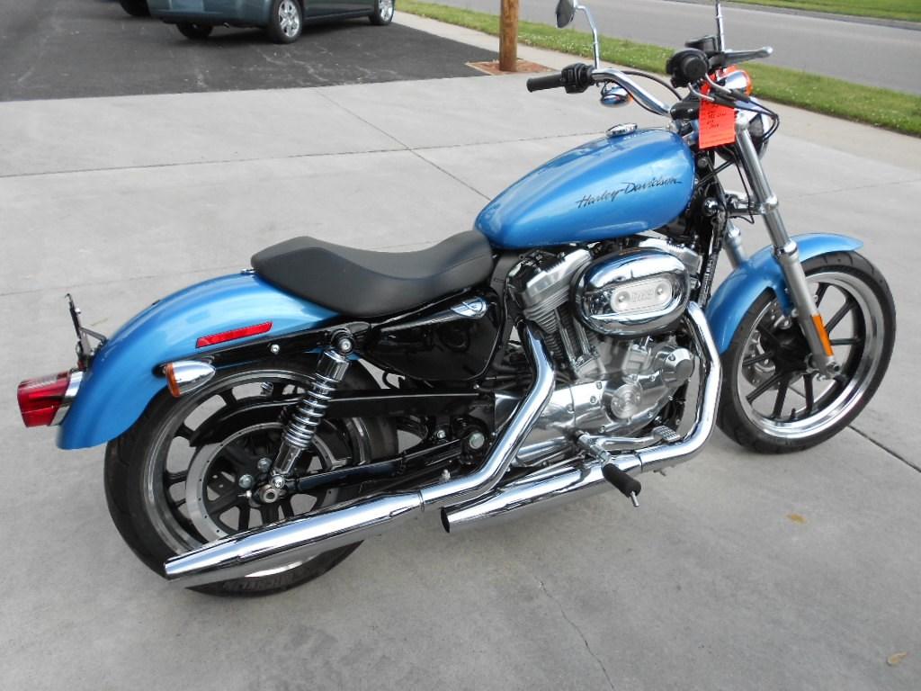 2011 Harley-Davidson® XL883L Sportster® 883 SuperLow™ – $6200 ...