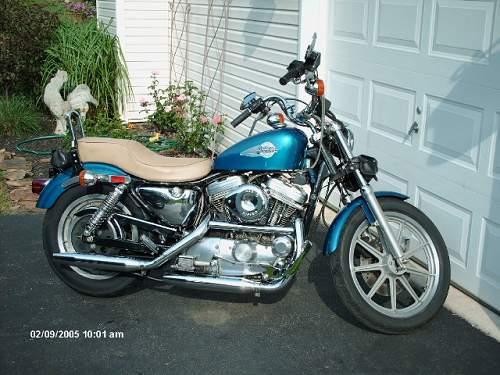 Photo Of A 1992 Harley DavidsonR XLH 1200 SportsterR