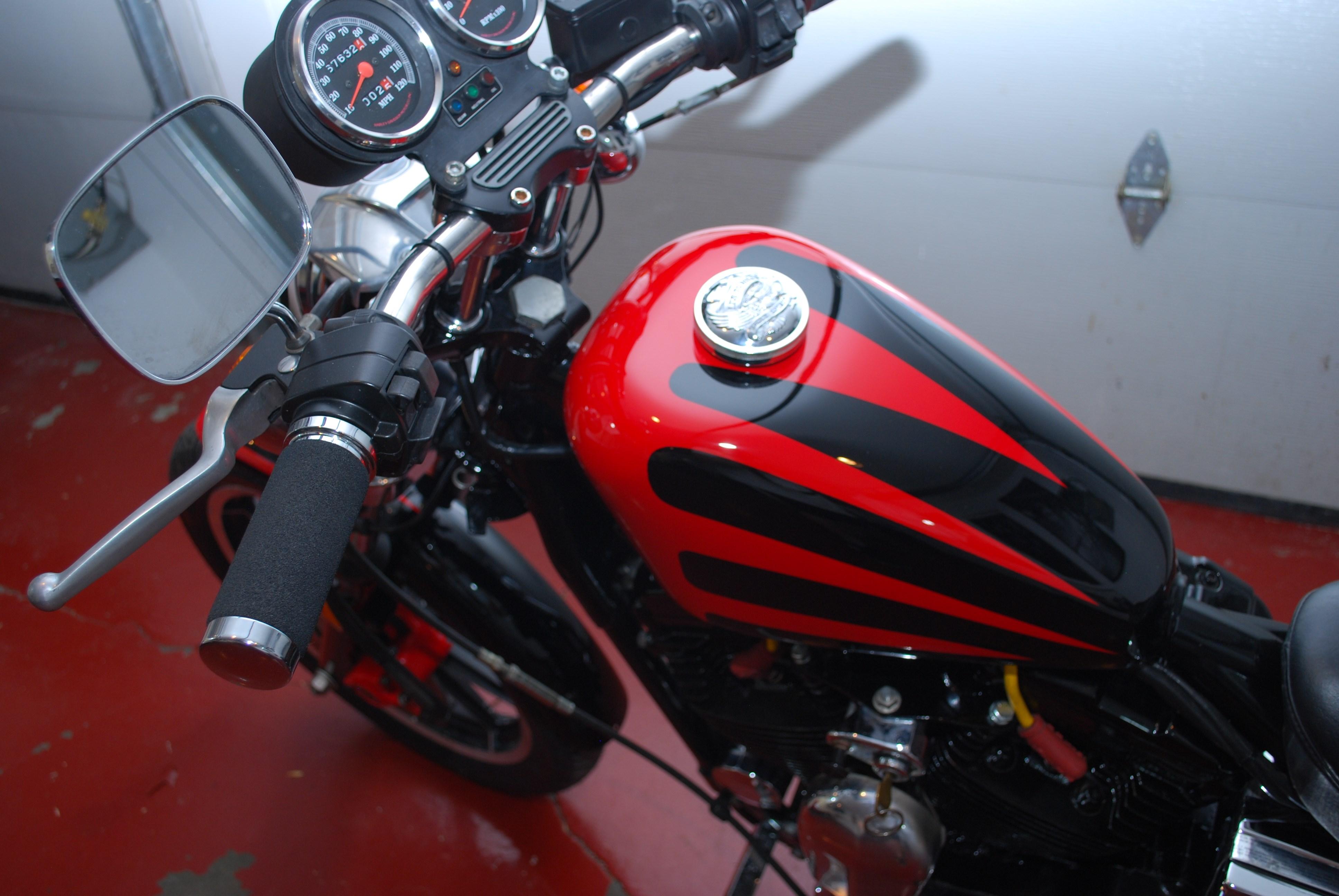 Harley Davidson Sportster  Custom Battery