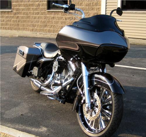 2007 Harley Davidson 174 Fltr Road Glide 174 Charcoal Black Hok