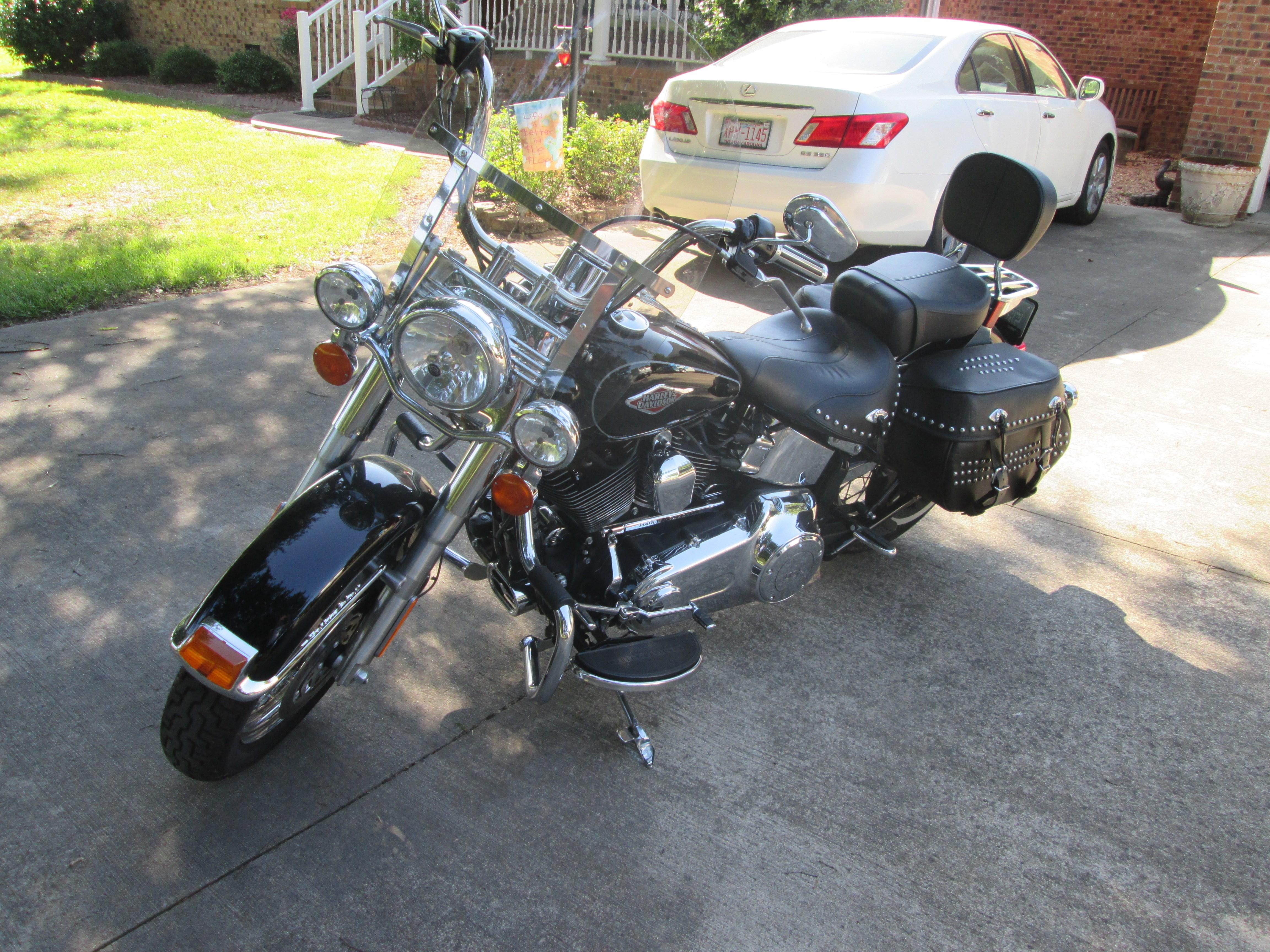 Ford Dealer Evansville Wi >> 2013 Harley-Davidson® FLSTC Heritage Softail® Classic (Black), Monroe, North Carolina (662221 ...