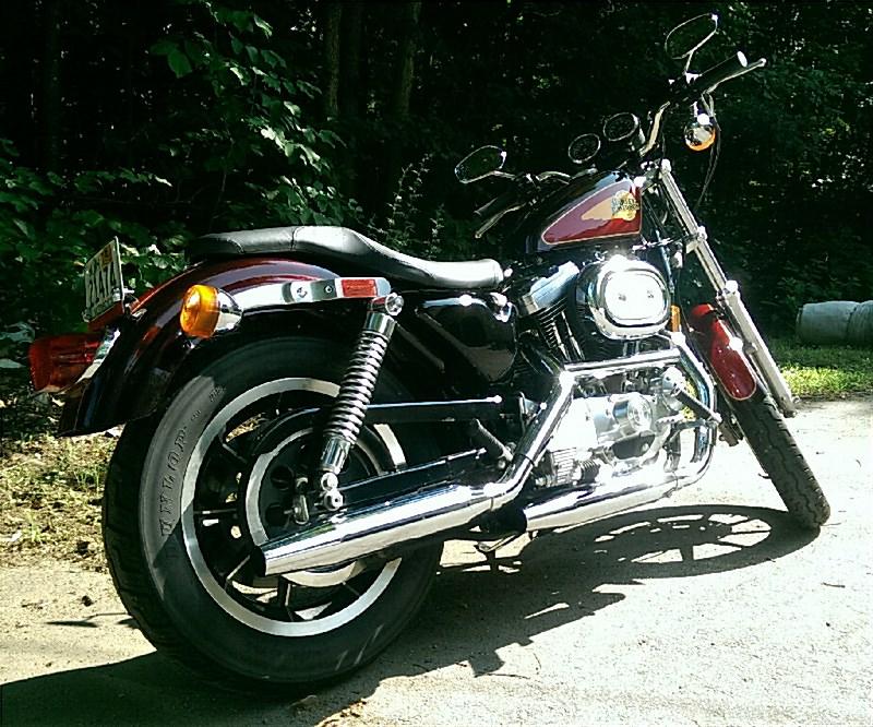 1991 Harley DavidsonR XLH 1200 SportsterR