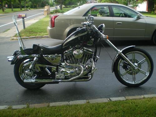 Harley Sportster Chopper For Sale Long Island Ny