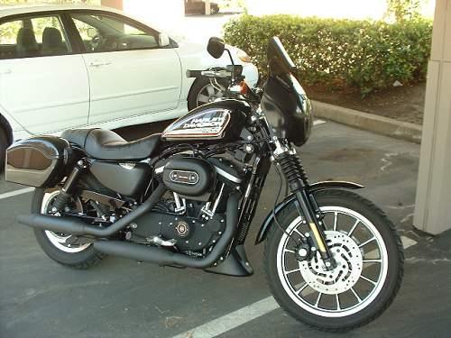 Harley Roadster For Sale San Diego >> 2005 Harley-Davidson® XL883R Sportster® 883 Roadster (Black), San Diego, California (78654 ...
