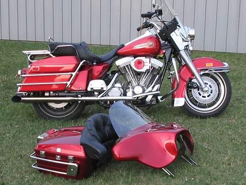 Photo Of A 1992 Harley DavidsonR FLHS Electra GlideR Sport