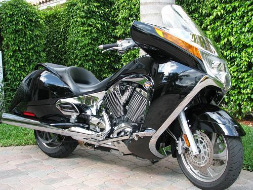 2008 Victory Vision 174 Tour Premium Black Miramar Florida 158710 Chopperexchange