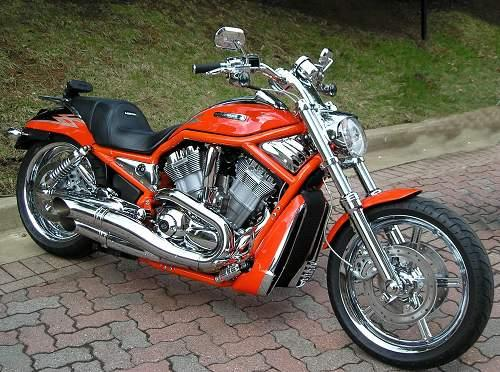 Motorcycle Parts Nashville Tn >> 2005 Harley-Davidson® VRSCSE Screamin' Eagle® V-Rod® (Electric Orange Pearl Coat), San Antonio ...