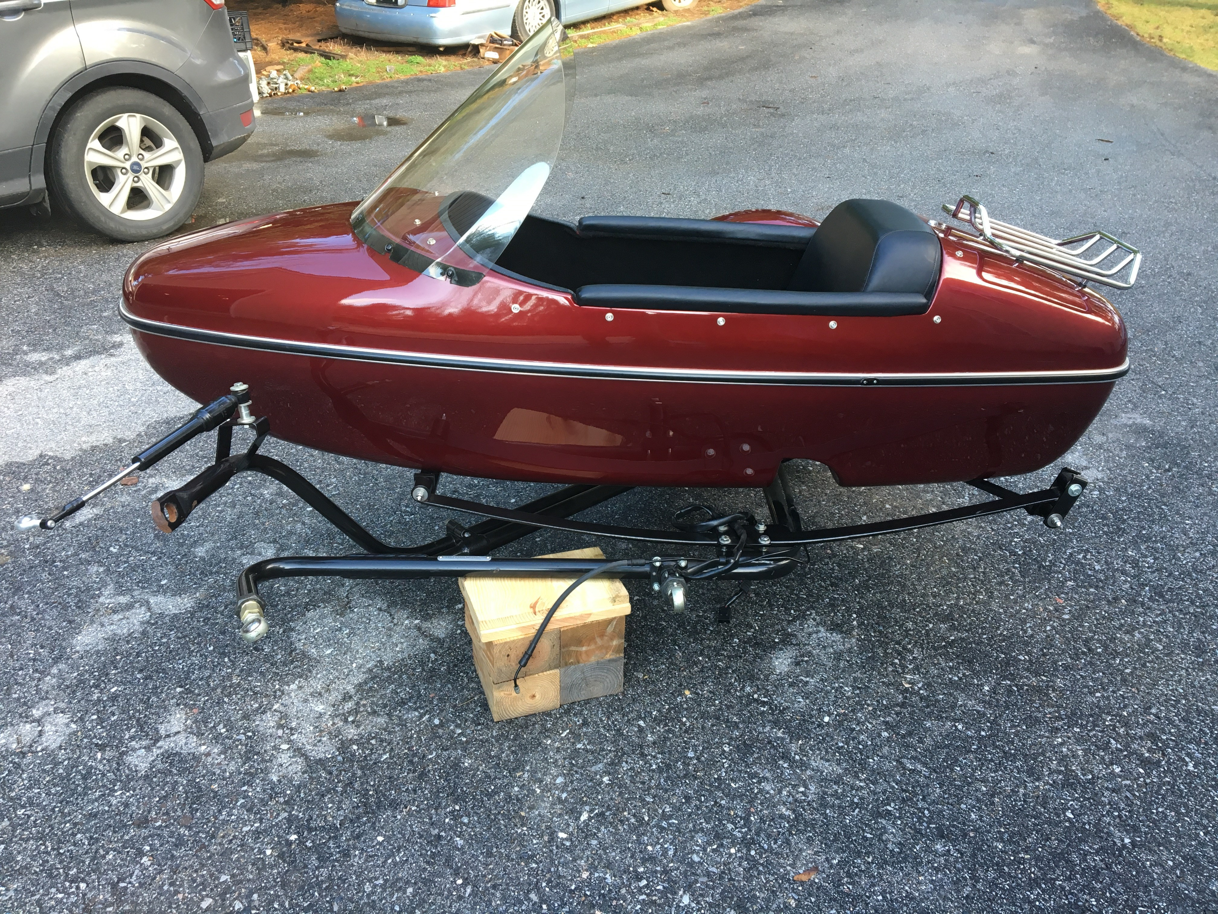 2006 Harley Davidson 174 Tle Sidecar Police Fire Rescue Dk
