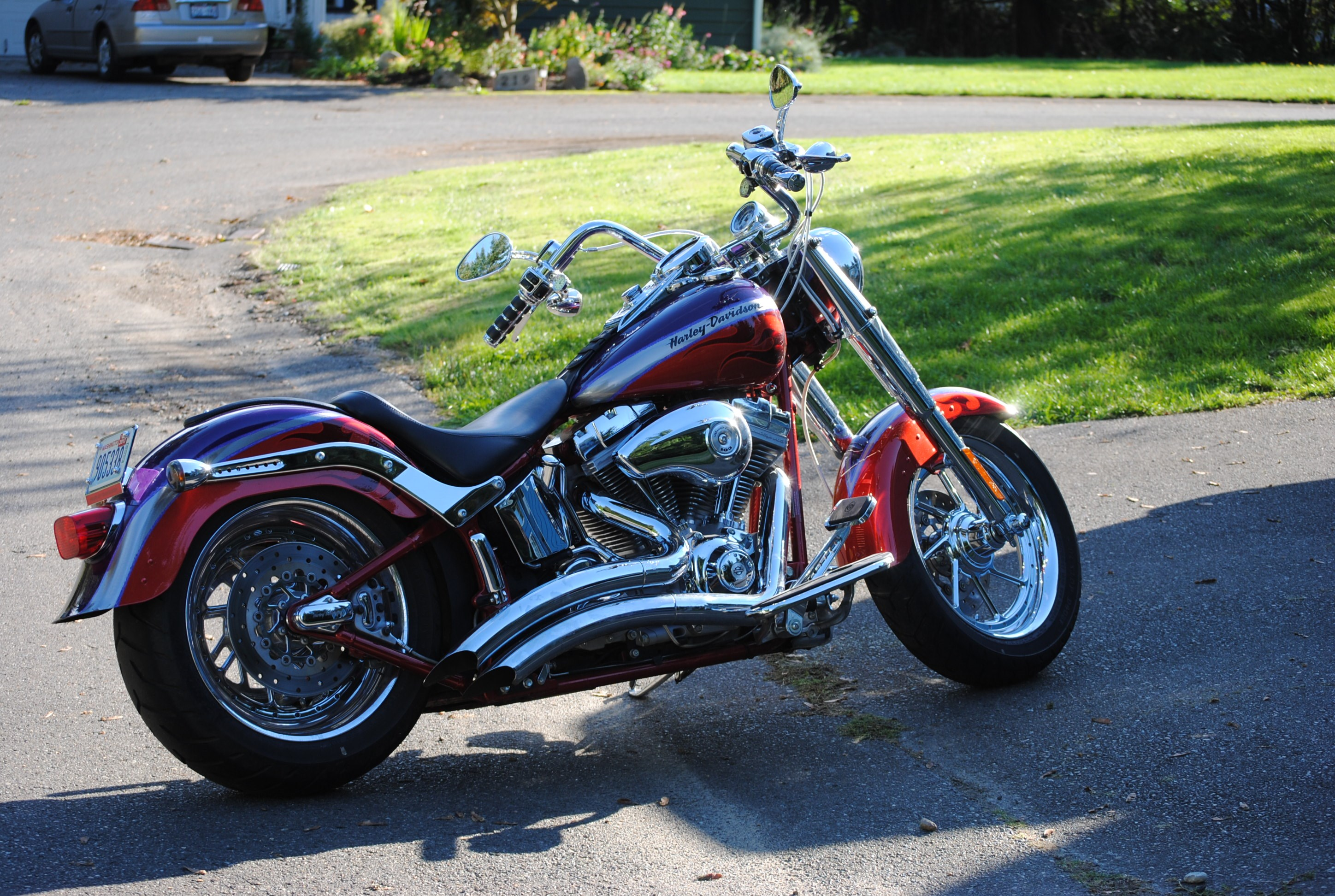 Softail Dealer Washington >> 2006 Harley-Davidson® FLSTFSE2 Screamin' Eagle® Softail® Fat Boy® (Concord Purple / Canyon ...