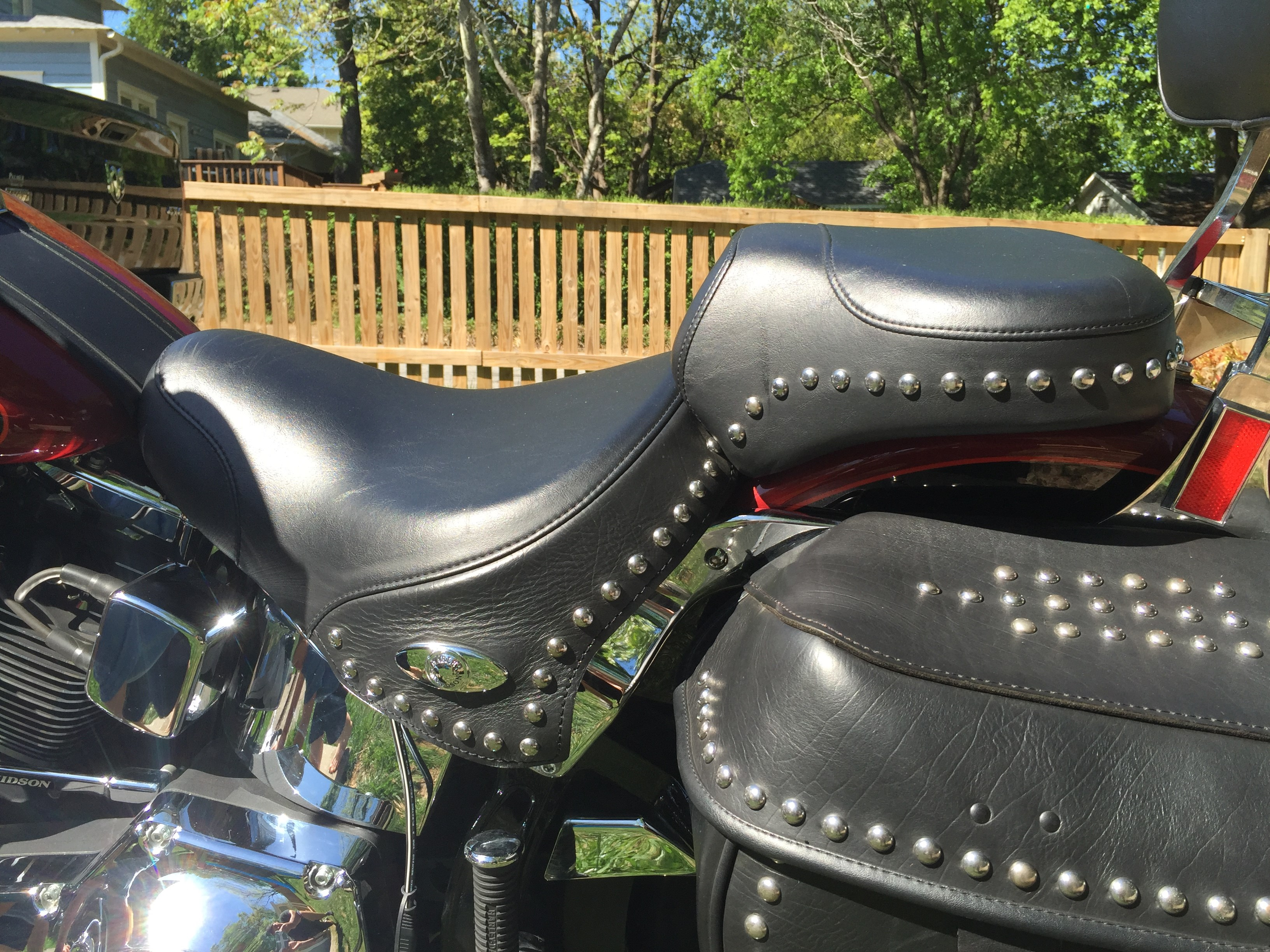 Harley Touring Motorcycles For Sale Atlanta Ga >> 2006 Harley-Davidson® FLSTC/I Heritage Softail® Classic (DARK RED AND BLACK), atlanta, Georgia ...