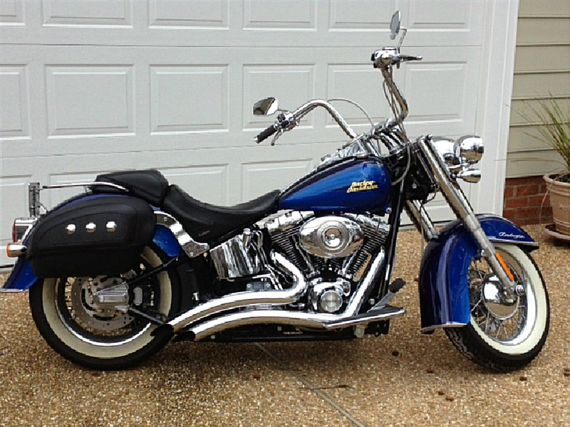 Photo of a 2007 Harley-Davidson® FLSTN Softail® Deluxe