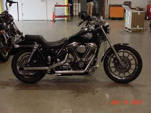 1992 Harley-Davidson® FXRS-SP Low Rider® Sport Edition (Blk w/flames