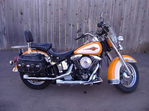 Photo Of A 1991 Harley DavidsonR FLSTC Heritage SoftailR Classic
