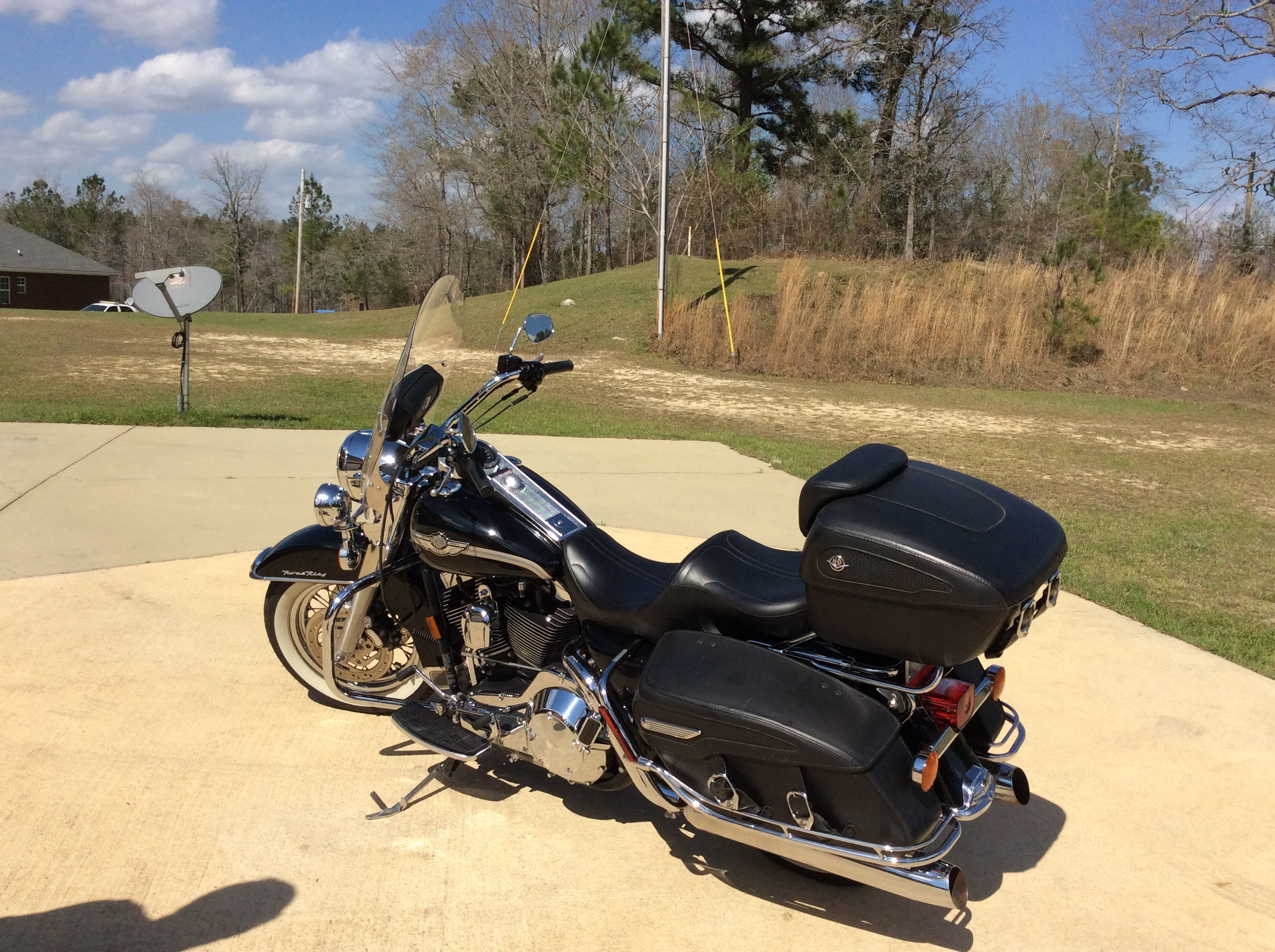 Motorcycles For Sale San Marcos Tx >> 2003 Harley-Davidson® FLHRC/I Road King® Classic (Black with Anniversary Stripe), Chatom ...