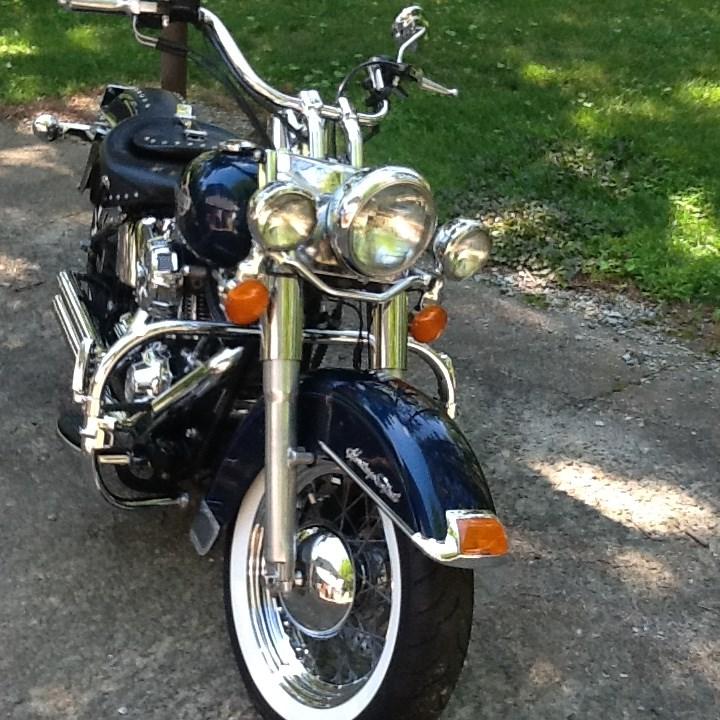 Harley Davidson Touring Motorcycles For Sale Dallas Tx >> 2004 Harley-Davidson® FLSTC/I Heritage Softail® Classic (Blue), Durham, North Carolina (644445 ...