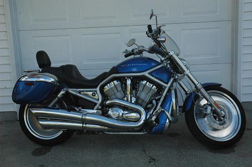 Harley Davidson V Rod Frame Bag
