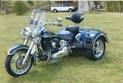 2003 harley davidson custom trike black silver gadsden alabama 643277 cyclecrunch. Black Bedroom Furniture Sets. Home Design Ideas