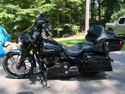 Blacked Out Street Glide >> 2007 Harley-Davidson® FLHTCU Ultra Classic® Electra Glide® Firefighter/Peace Officer (Black with ...