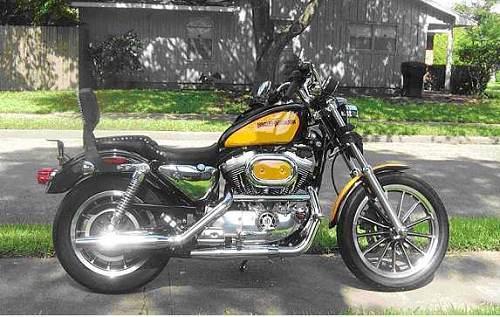 Harley Davidson Houston Locations: 2001 Harley-Davidson® XLH-1200 Sportster® 1200 (Yellow And