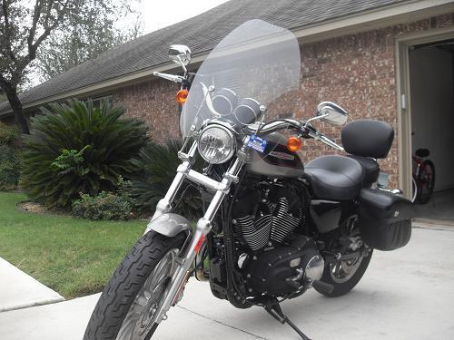 Harley Davidson For Sale San Antonio Tx >> 2007 Harley-Davidson® XL1200R Sportster® 1200 Roadster (Pewter Pearl), San Antonio, Texas ...
