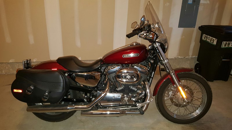 Photo of a 2010 Harley-Davidson® XL1200L Sportster® 1200 Low