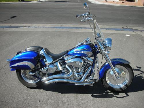 2005 Harley-Davidson® FLSTFSE Screamin' Eagle® Fat Boy ...