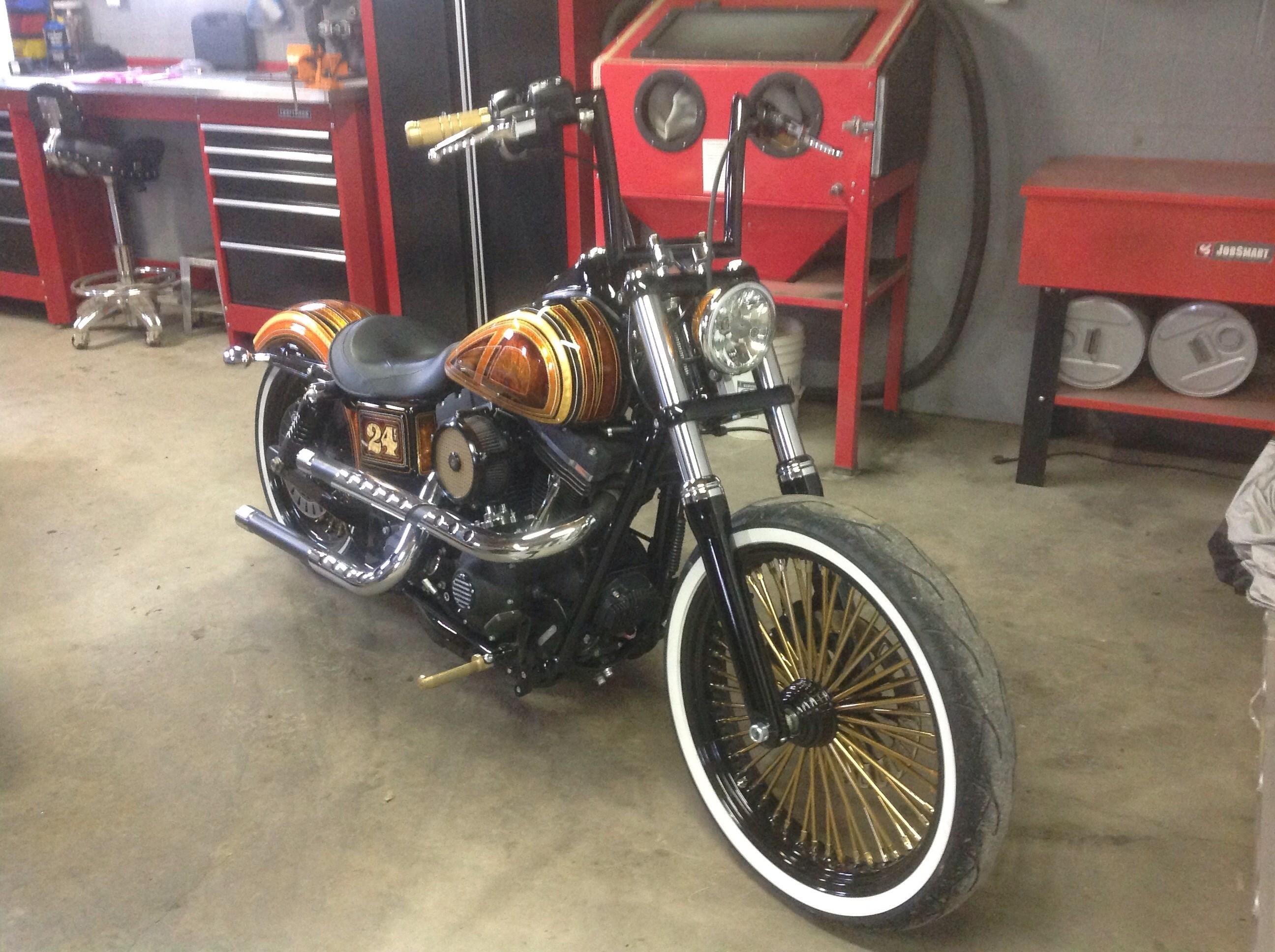 Used Harley Davidson F Rims