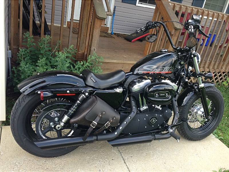Picture Of Black 2010 Harley DavidsonR Xl1200x SportsterR Forty